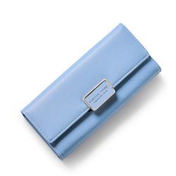 Ví cầm tay nữ cao cấp Forever Young màu xanh coban - Hàng full box