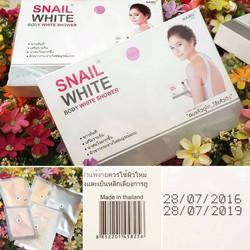 Tắm trắng Snail White body Thái Lan