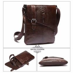 Túi đeo chéo cá sấu Marrant – BHM8239