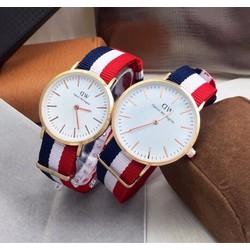 Đồng hồ đôi dây vải