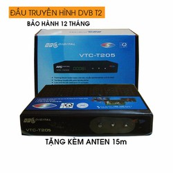 Đầu thu truyền hình DVB T2 VTC-201