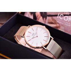 đồng hồ thời trang nữ dây nhuyễn 1021