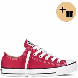 Giày Sneaker Đỏ Cổ Thấp - Nam