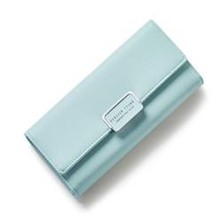 Ví cầm tay nữ cao cấp Forever Young màu xanh mint - Hàng full box