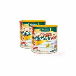 Bộ 2 lon sữa Premium Nutrient kid 2 700g