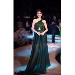 Đầm Dạ Hội Lệch Vai Đẹp Lung Linh- D605