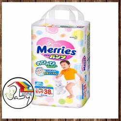Bỉm Merries đủ size hàng công ty