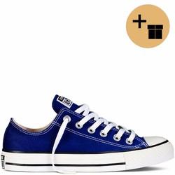 Giày Sneaker Xanh Nhạt Cổ Thấp - Nam