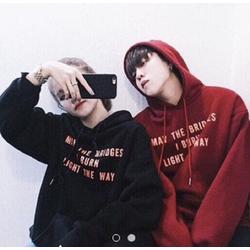Áo khoác hoodie in