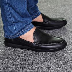 Giày Lười Nam Da Bò Đẳng Cấp New 2017
