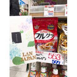 Ngũ cốc hoa quả Calbee furugura Nhật gói 800g
