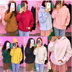 Áo khoác hoodie trơn