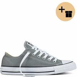 Giày Sneaker Xám Cổ Thấp - Nữ