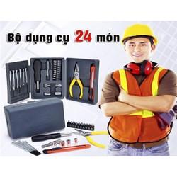 Bộ dụng cụ sửa chữa đa nặng 24 món, chất lượng giá tốt Cần Thơ