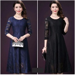 Đầm xòe Ren cao cấp thiết kế sang trọng
