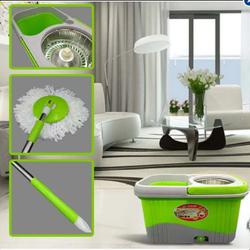 Chổi lau nhà 360 độ bida mop 2 bông trắng