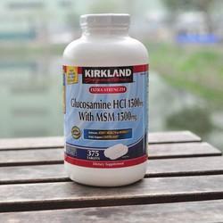 Viên uống Kirkland Glucosamine hỗ trợ xương khớp Mỹ