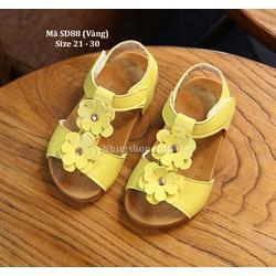 Sandal cho bé gái 1 - 5 tuổi kiểu dáng Hàn Quốc