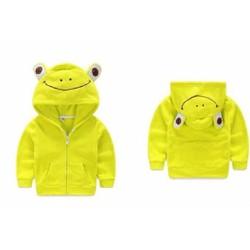 Áo khoác chú ếch xanh ngộ nghĩnh