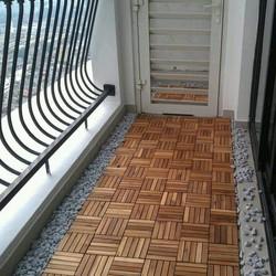 ván sàn gỗ  ngoài  trời