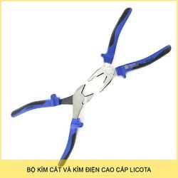 Bộ kìm điện và kìm cắt Licota