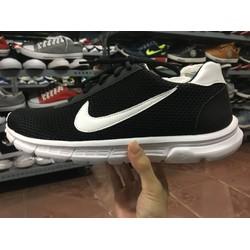 giày thể thao nam đen móc trắng , đủ size nam