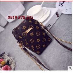[Sale] Túi đeo điện thoại hoa tiết
