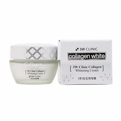 Kem làm trắng da 3W CLNIC Collagen Whitening Cream