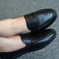 Giày Mọi, Giày Lười Nam Da Bò Đẳng Cấp New 2017