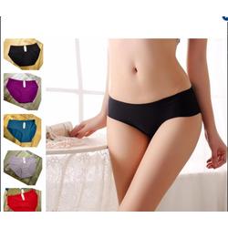 Combo 10 quần lót nữ không đường may viền chất thun lạnh cao cấp