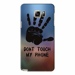 Ốp lưng Samsung Galaxy Note 5 - Dont Touch My Phone