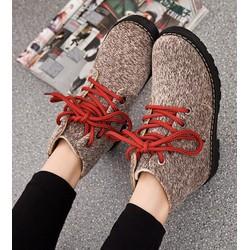 giày ankle boot cá tính Mã: GC0164 - NÂU