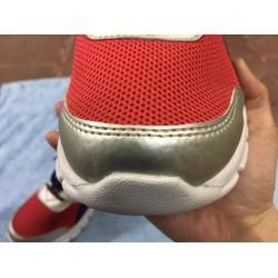 Giày thể thao nam , xám đỏ , đủ size nam