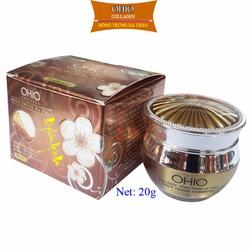 Kem Nám - Trắng Da OHIO Collagen - Đông Trùng Hạ Thảo (20g)