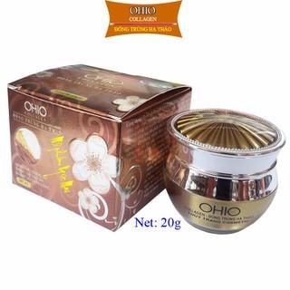 Kem Nám - Trắng Da OHIO Collagen - Đông Trùng Hạ Thảo (20g) - OHDT-N20-89 thumbnail