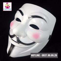 Mặt Nạ Anonymous má trắng