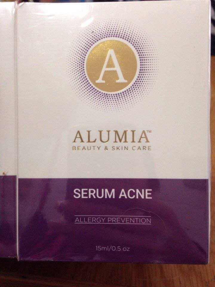 SERUM TRỊ MỤN ALUMIA 2
