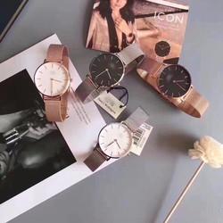 đồng hồ thời trang dây nhuyễn 1074