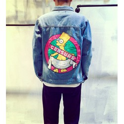 áo khoác jeans simpson censure Mã: NK1025