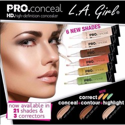 Che Khuyết Điểm L.A GIRL Pro Conceal HD High DefinitionI Concealer