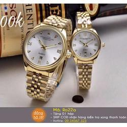 Đồng hồ cặp dây vàng