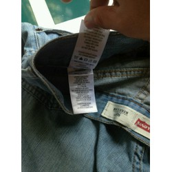 quần jeans nam hàng second hand 505