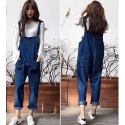 quần yếm jeans 2 túi Mã: QD1452