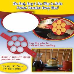 Khuôn làm bánh Pancake SiliCon