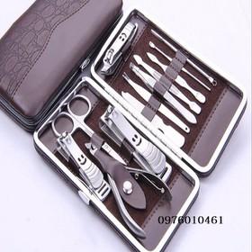 Dụng cụ cắt móng tay 12 chi tiết - cắt móng tay - 0976010461