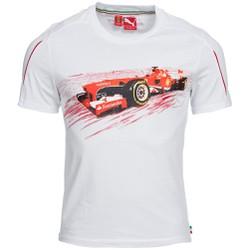 Áo phông cộc tay thể thao nam Scuderia Ferrari SF Graphic