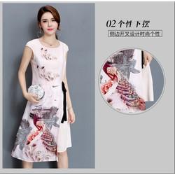 Đầm maxi hoat tiet cao cấp