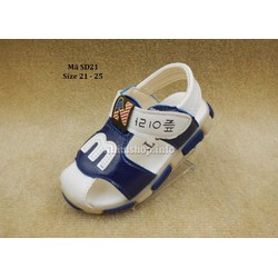 Giày Sandal cho bé trai 1-3 tuổi kiểu chữ M cá tính SD21