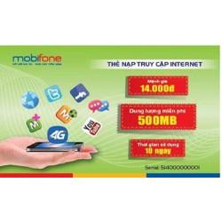 Thẻ nạp DATA MobiFone