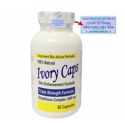 Ivory Caps - Viên uống trắng da của mỹ